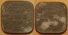 Bon pour une Prime, 1884, 145 Bld de la Villette & 274 Faub St Martin, Paris !!