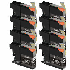 8 Pack LC103 XL LC-103XL Black Ink For Brother MFC-J450dw MFC-J470dw MFC-J870dw