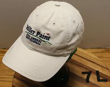 2008 MILLER PAINT 20TH INVITATIONAL GOLF TOURNAMENT HAT ADJUSTABLE BEIGE VGC