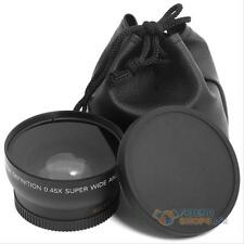 0.45x 52mm Super Wide Angle Macro Lens for Nikon D3000 D3100 D5100 D3200 D90 D80