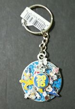 DISNEY PARKS MICKEY AND FRIENDS 2015 SPINNING KEY CHAIN MICKEY & MINNIE MOUSE
