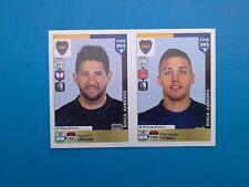 PANINI FIFA 365 - N. 72-73 TOBIO ORION BOCA JUNIORS