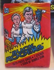 Vintage 1979 Topps BUCK ROGERS TV PHOTO CARDS Bubble Gum Wax Pack SEALED *