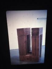 "Carl Andre ""Western Red Cedar"" Minimalism Sculpture 35mm Art Slide"