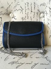 Urban Outfitters Purse Crossbody Chain Strap Black NWT $26
