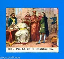CENTENARIO UNITA D'ITALIA - Figurina-Sticker n. 108 - PIO IX DA LA COST. -Rec