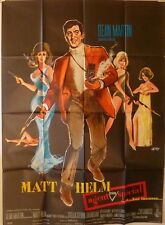 SILENCERS French Grande movie poster 47x63 DEAN MARTIN MATT HELM