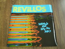 "THE REVILLOS - WHERE'S THE BOY FOR ME 7"" DINDISC 1979 BARELY PLAYED NEAR MINT"