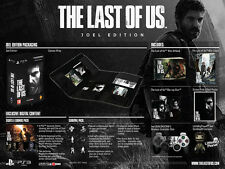 The Last Of Us Joel Edition Limited Edition PS3 PAL AUS *NEW*