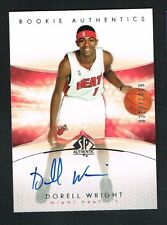 Dorell Wright 2005 Upper Deck Rookie Authentics signed autograph auto Card