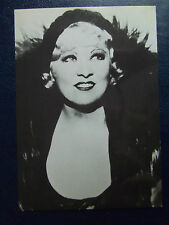 1980s MAE WEST POSTCARD 1930s film star portrait in hat