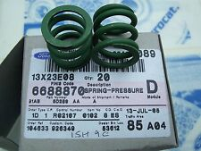 2 New Genuine Ford Escort Mk4 Mk5 Fiesta Mk2 Mk3 Exhaust Springs NOS