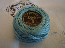 Ancien fil coton perlé 1 bobine DMC N°5 48m ou 10 gr /embroidering cotton thread