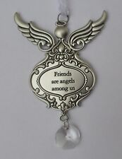 cc Friends are angels among us GUARDIAN ANGEL ORNAMENT prism ganz car charm