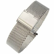 18mm 20mm 22mm Stainless Steel Mesh Milanese Uhrenarband Watch Band Bracelet