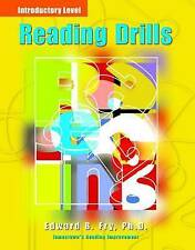 Reading Drills: Jamestown's Reading Improvement : Introductory Level Fry, Edward