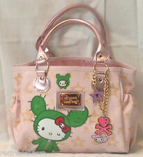 ❤️TOKIDOKI X HELLO KITTY BOSTON BAG MINI PINK SANDY LIMITED EDITION RARE FIND❤️
