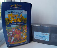Winnie  The  Pooh  -  All  for  One,  One for All New & Sealed Disney VHS Video