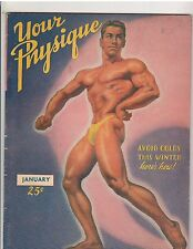 YOUR PHYSIQUE bodybuilding muscle magazine/Dan Lurie 1-47