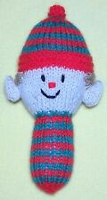 KNITTING PATTERN - Elf 15 cms Baby Toy - Great for Christmas and charity