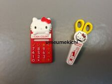 Re-ment dollhouse miniature calculator scissors hello kitty sanrio licensed