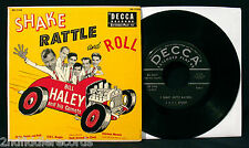 BILL HALEY and HIS COMETS-Very Rare SHAKE RATTLE AND ROLL EP-DECCA #ED 2168