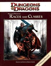 RACES AND CLASSES 4TH EDITION PREVIEW EXC! Dungeons Dragons Player's Handbook