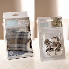 Debbie Shore 27mm Button Making Factory Kit & Refill Pack - FREE UK P&P