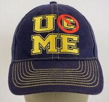 U Don't C Me You See John Cena WWE Wrestling Blue Baseball Hat Cap Adjustable