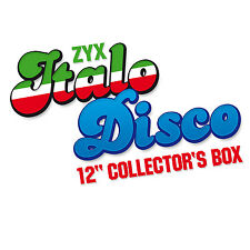 CD Italo Disco 12 Inch Collector's Box von Various Artists Italo  10CDs