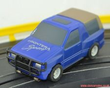 Rare Micro Scalextric Vauxhall Frontera Sport in Blue Fully serviced HO Scale