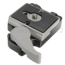 323 Quick Release Clamp Adapter & 200PL-14 QR for Manfrotto Camera Tripod 3/8