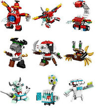 NEW LEGO MIXELS SERIES 8 - Complete Collection - MCFD/Pyrratz/Medix