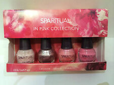 NEW ARRIVAL! SPARITUAL IN PINK COLLECTION 4-PCS NAIL LACQUER POLISH SET SALE!