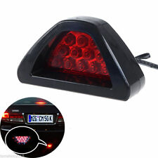 Universal Car Sporty F1 Style Triangle 12-LED Rear Stop Tail 3rd Brake Light RED