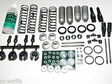 E2015 MUGEN SEIKI MBX-7R BUGGY FRONT AND REAR SHOCKS WITH OIL