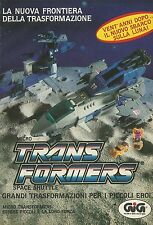 X4014 Micro Transformers Space Shuttle - GIG - Pubblicità 1989 - Advertising