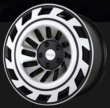 18X8.5/9.5 Radi8 T12 5x112 +40/42 Machined Rims Fits VW cc eos golf rabbit