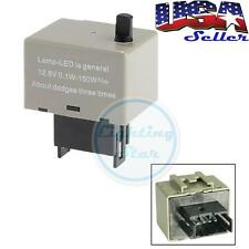 Speed Adjustable 8 Pin LED Flasher Assy Relay Fix For Lexus Toyota Turn Signal