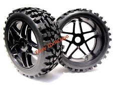 1:8 RC All Terrain Baja Buggy Tires & Wheels Set (2) for HPI