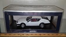1/18 NOREV COLLECTION 1981 RENAULT ALPINE A310 WHITE rd