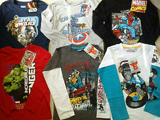 AMAZING WINTER SUMMER NEW BUNDLE OUTFITS BOY CLOTHES 7/8 YRS(3.5)NR429