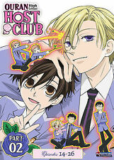 Ouran High School Host Club - Season 1 Part 2 (DVD, 2009, 2-Disc Set) ANIME