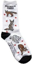 Preserve Foxes (33705) Women Socks Cotton New Gift Fun Unique Fashion Fox Lover