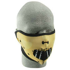 Hannibal Neoprene Half Face Mask Biker Snowmobile Ski Paintball Costume Lecter
