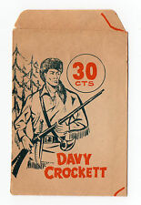 1960s Original Spanish Opened Packet Wrapper Ruiz Romero Davy Crockett
