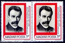 Ervin Szabo, Social Scientist, librarian, Revolutionary, Hungary 1977 MNH 1vpair