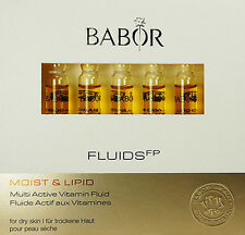 Babor Moist & Lipid Multi Active Vitamin Fluid 7 Ampoules X 2ml Brand New