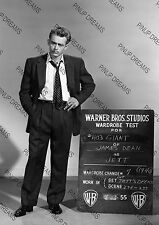 Vintage A4 Photo Poster Wall Art Print of James Dean, Teen Idol of the 1950's