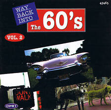 WAY BACK INTO THE 60´s Vol. 2 Top Oldies! CD 16 Tracks NEU & OVP